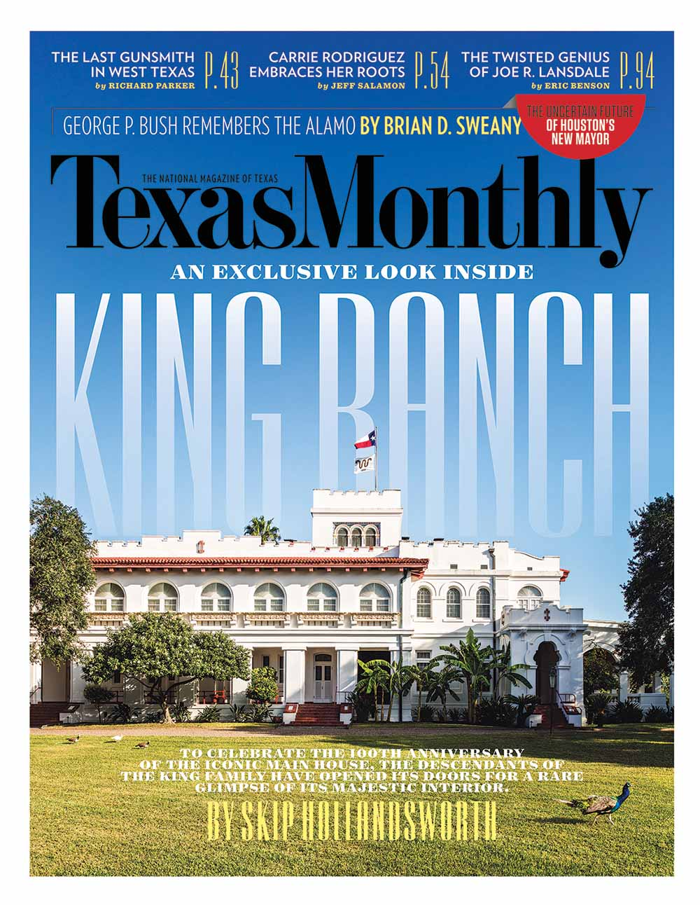 TEXAS MONTHLY, FEBRUARY 2016