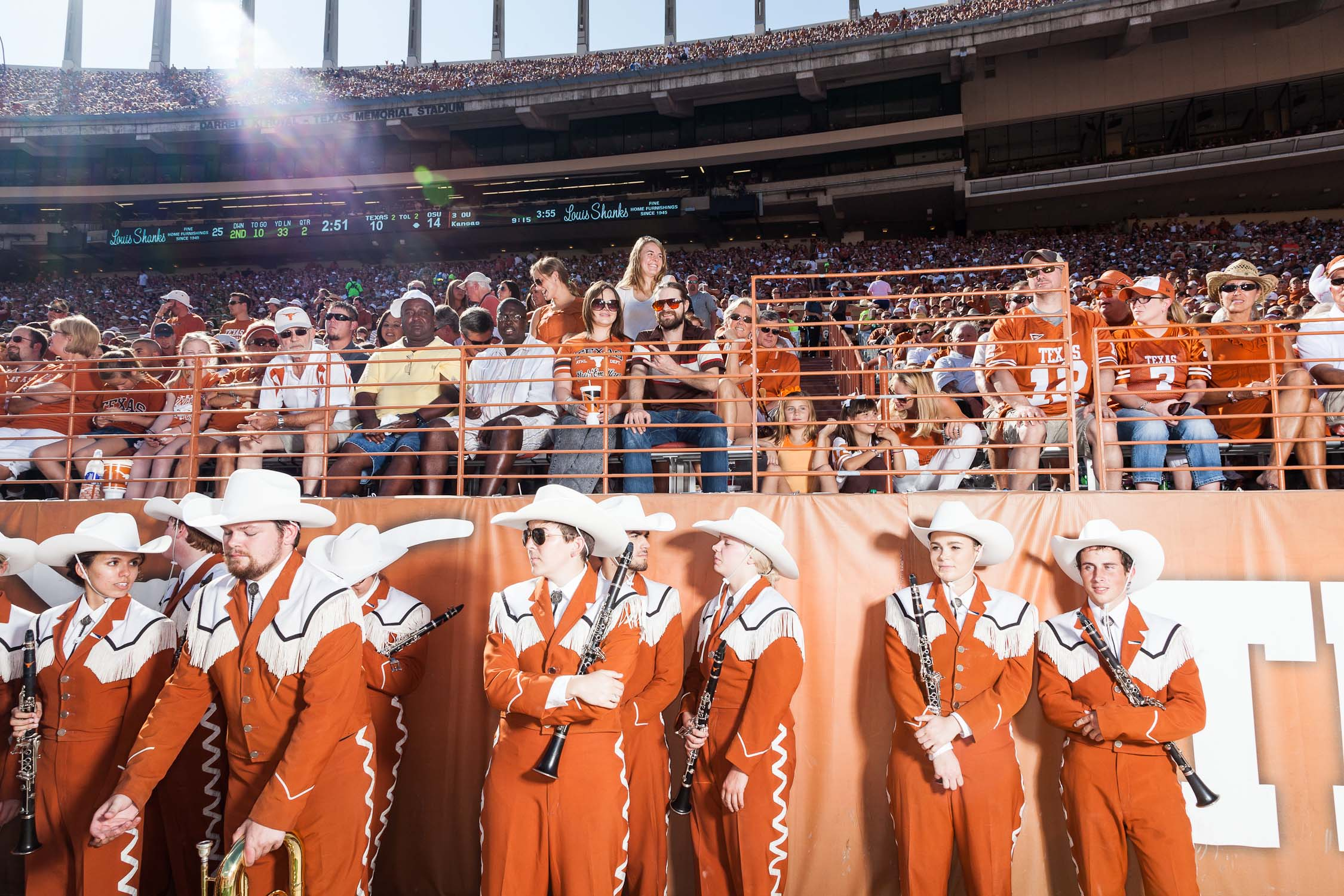 GAMEDAY AT THE UNIVERSITY OF TEXAS