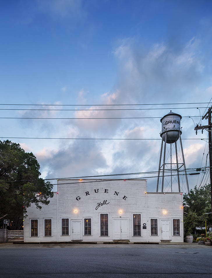 TEXAS DANCE HALLS, GRUENE HALL