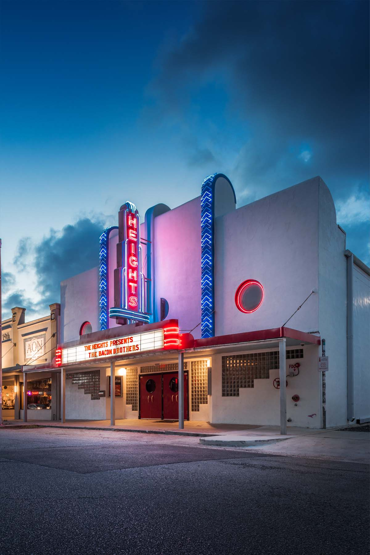 HEIGHTS THEATER, HOUSTON, TX