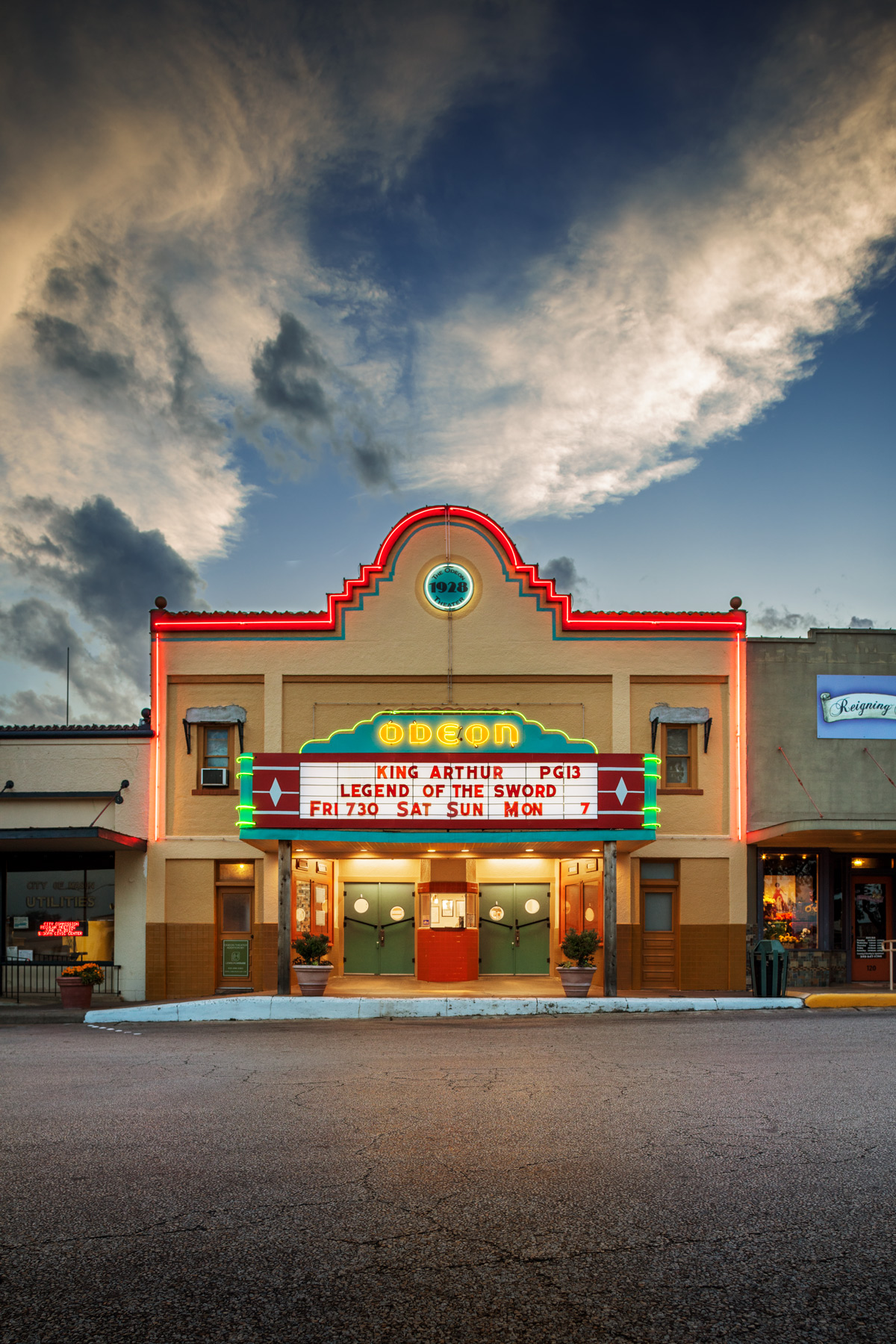 ODEON THEATER, MASON, TX