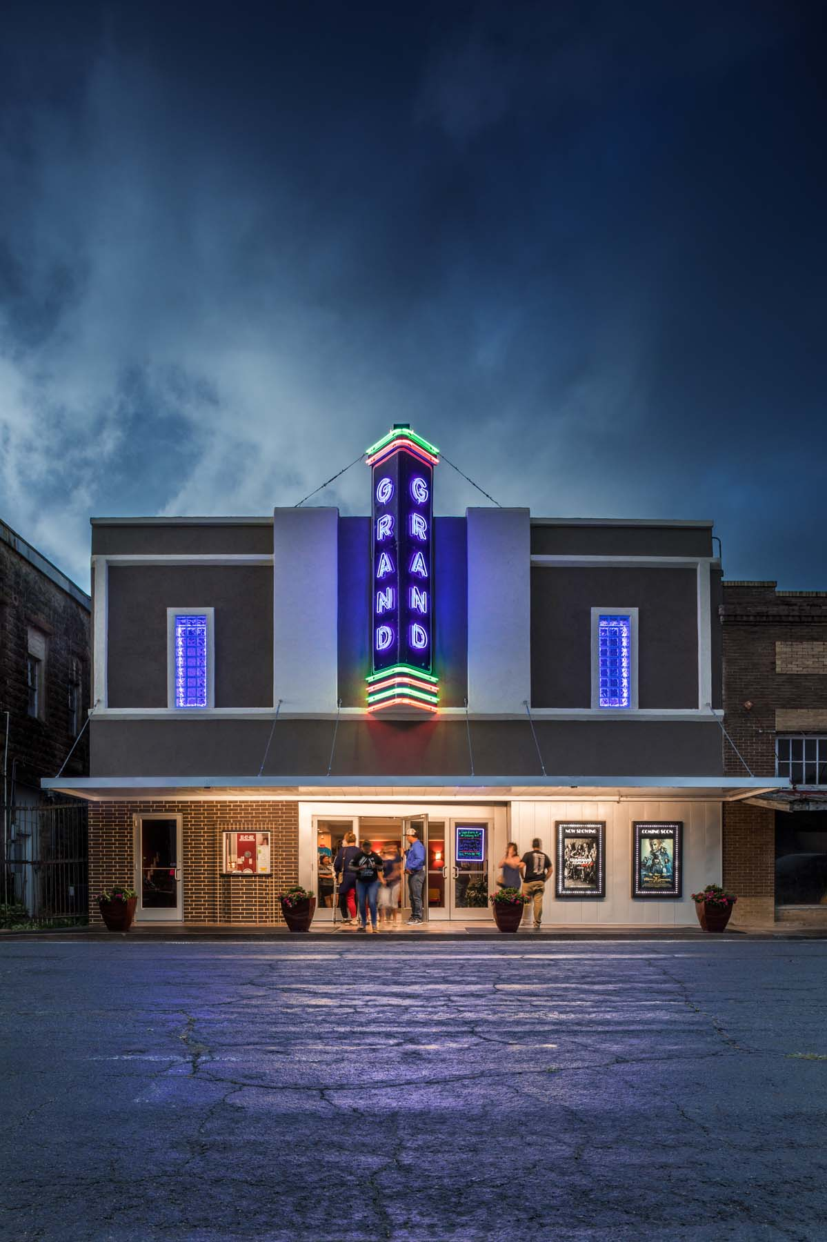 GRAND THEATER, YOKUM, TX