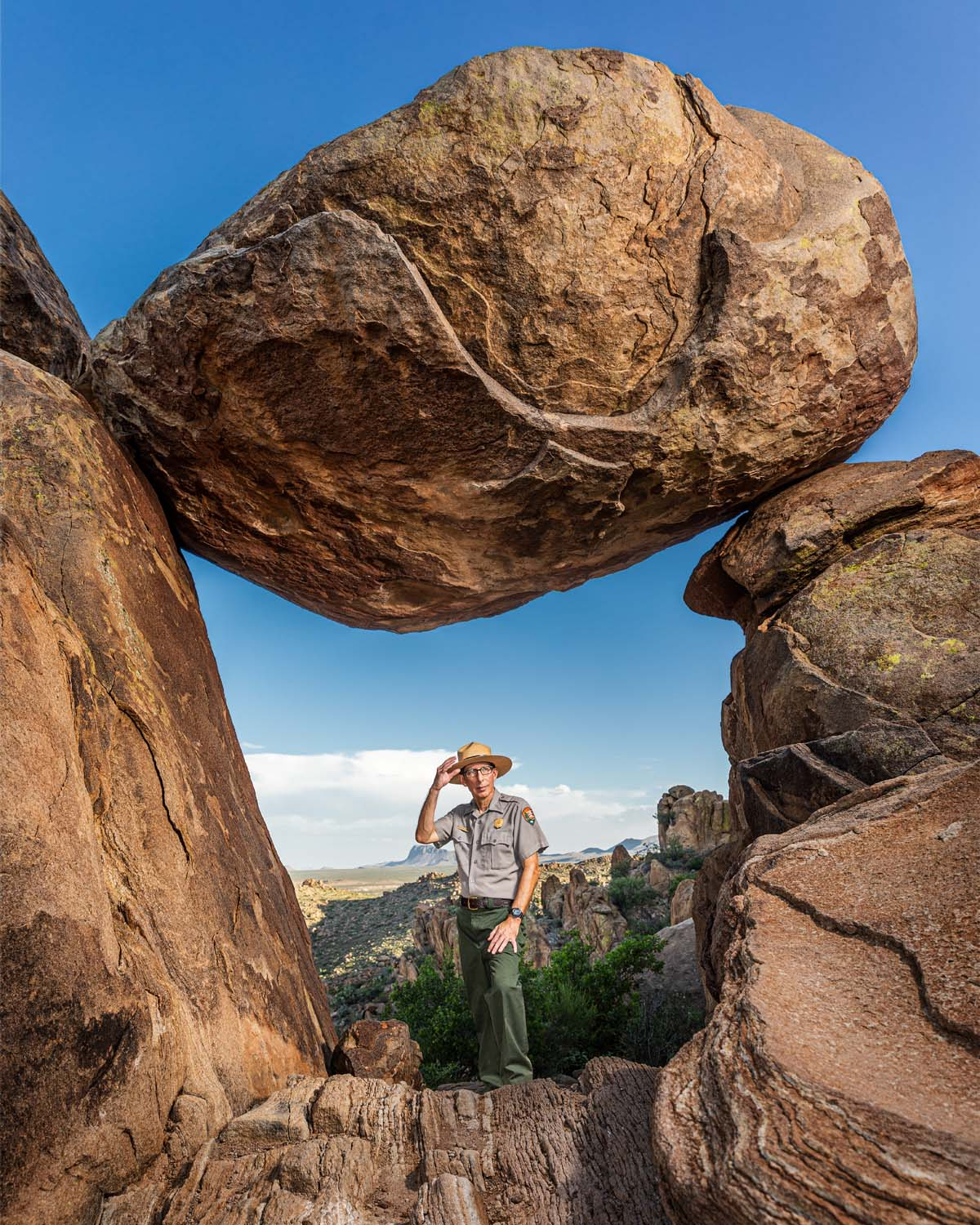 BOB KRUMENAKER, BIG BEND NATIONAL PARK SUPERINTENDENT