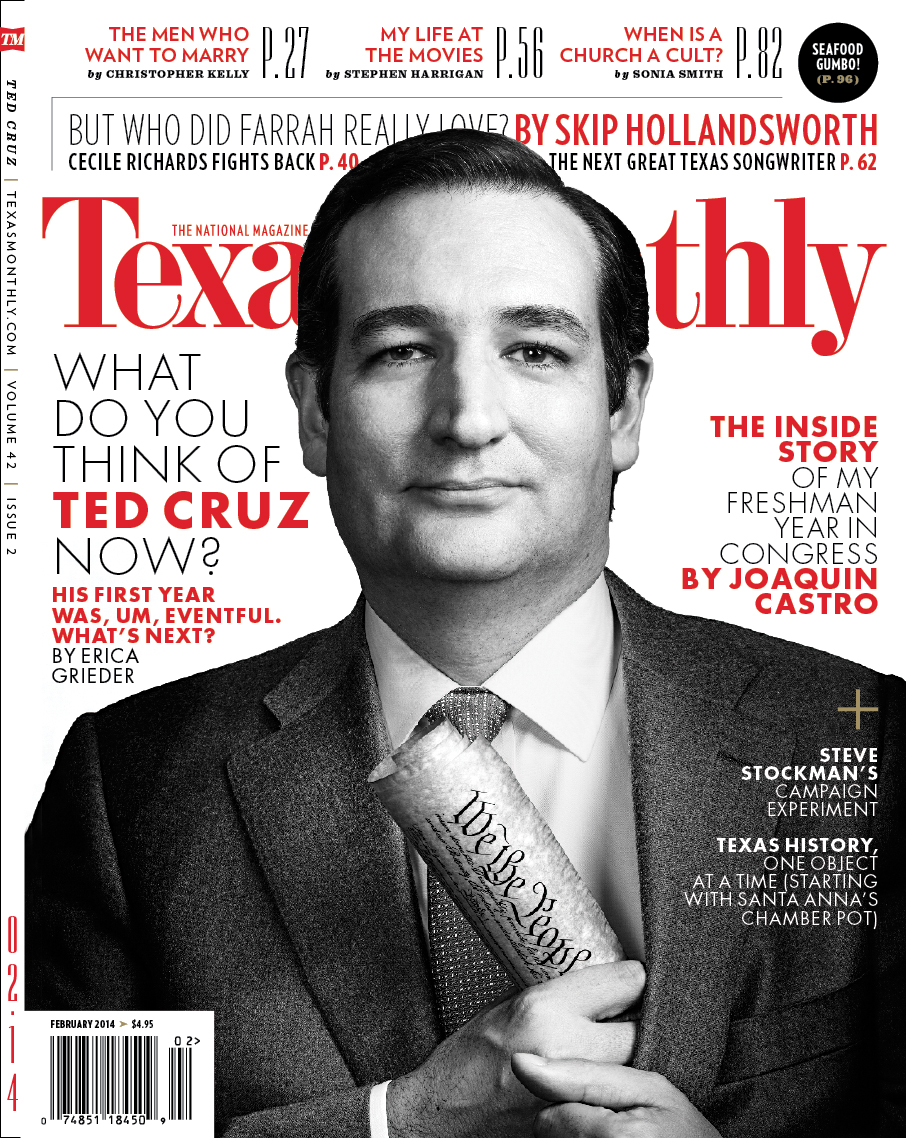 TED CRUZ, TEXAS MONTHLY