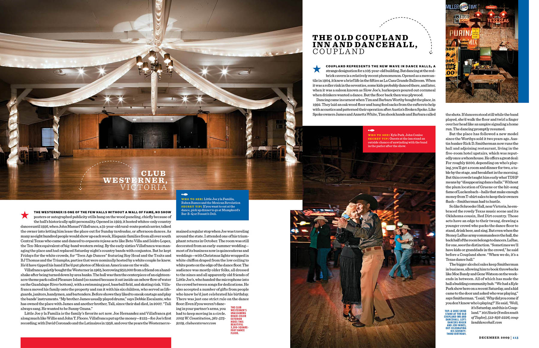 DANCEHALLS, TEXAS MONTHLY