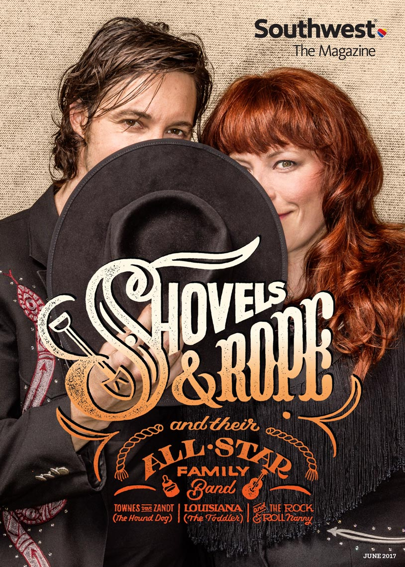 SHOVELS AND ROPE,  SOUTHWEST MAGAZINE