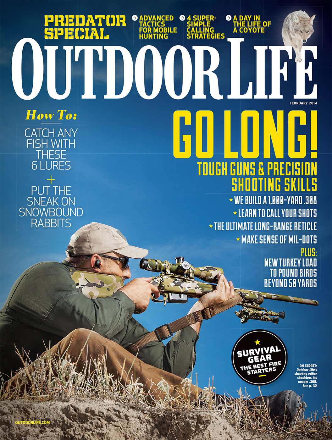 OUTDOOR LIFE FEBRUARY 2014