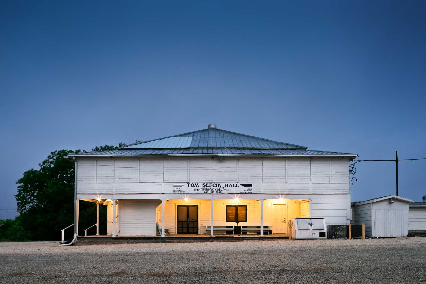 TEXAS DANCEHALLS,SEFCIK HALL
