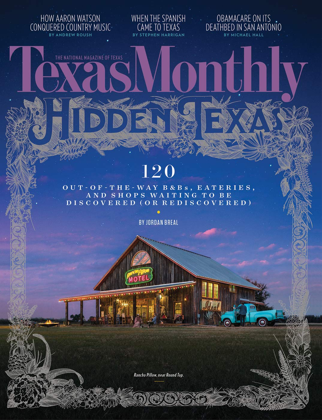 TEXAS MONTHLY MARCH COVER