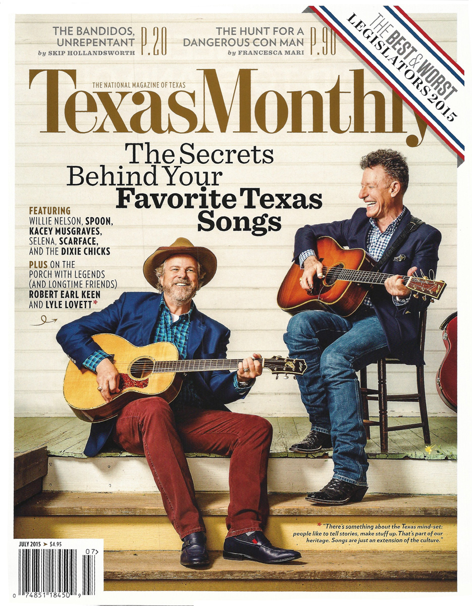 TEXAS MONTHLY, JULY 2015
