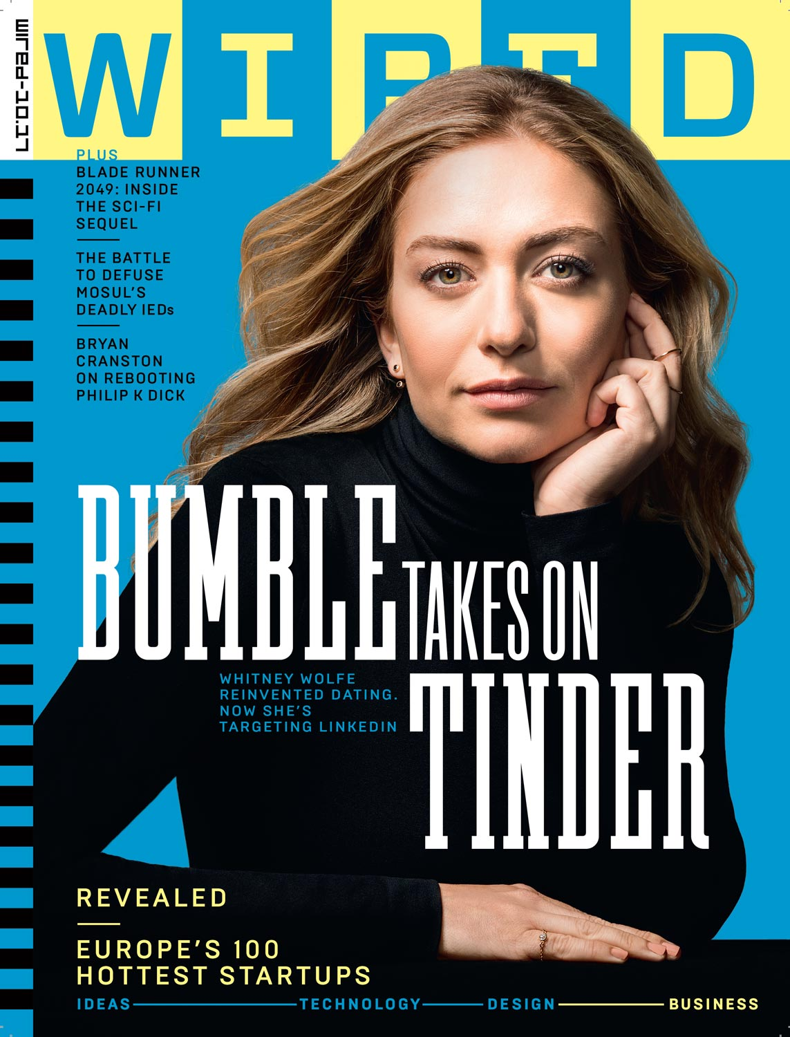BUMBLE CEO WHITNEY WOLFE HERD, WIRED U.K.